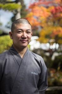 Eko-in monk Nobuhiro Tamura. Photo: Jason Haidar