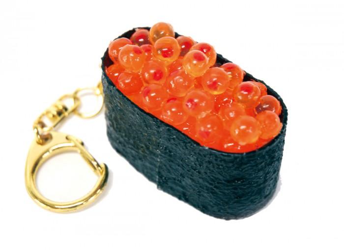 ikura-sushi-keychain